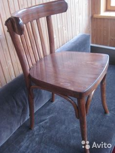 Старинный венский (Тонет) стул. Отреставрирован