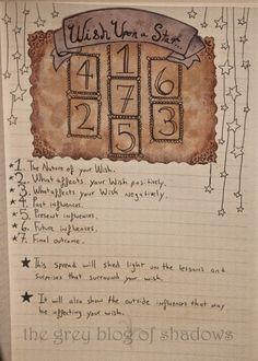 Wish Upon A Star tarot spread