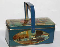 ancienne-boite-en-tole-decor-de-marine
