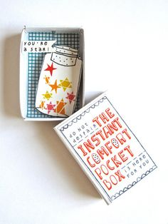 The Instant Comfort Pocket Box  //  Kims Little Monsters