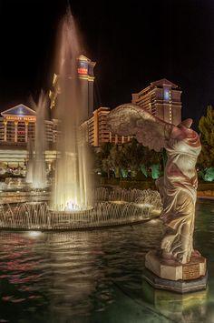 Venus in the garden at Caesars Palace, Las Vegas