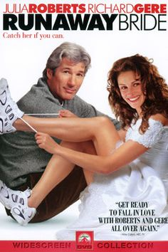 Richard Gere and Julia Roberts in Runaway Bride DVD