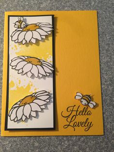 Card made by Carol Couch from Fun Stampers Journey-Hello Lovely