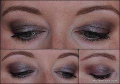 Make up yeux (paupières tombantes) avec fards Kiko 228, 137 et 122!