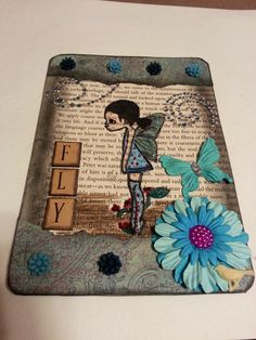 Fairy card by Delores Miller