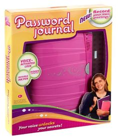 Gifts For Girls Ages 7 And Up My Oldest Daughter Would Love A Voice Activated Password Journal Anything To Keep Those Brothers From Snooping