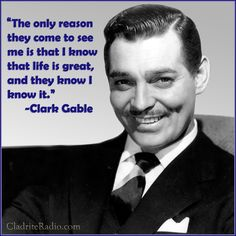 quote from Clark Gable