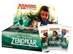 Magic The Gathering Battle For Zendikar Holiday Gift Box: With 5 ...