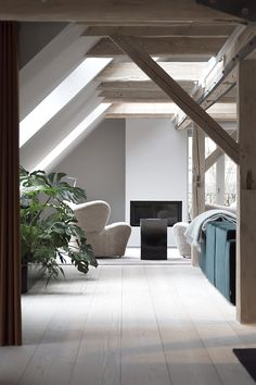vosgesparis: A VIPP loft in Copenhagen you can call yours for the night #vipp #vippkitchen #hotel #loft#copenhagen #vipplamps #withstyle #withstylenu #bylassen #fieplace