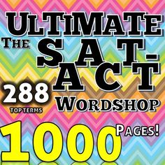 Andi's Book Reviews: Get Allen Dobkin's Ultimate SAT - ACT Wordshop