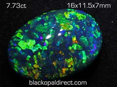 This black opal is double sided.