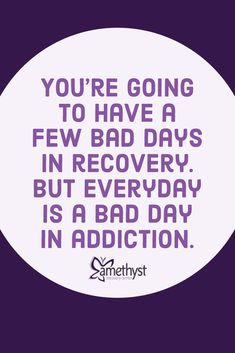 Alcohol & Drug Rehab Center in Florida, Amethyst Recovery provides Detox and Inpatient/Residential Addiction Treatment. Visit our center, we can help. Alcohol Is A Drug, Alcohol Quotes, Wife Quotes, Mother Quotes, Qoutes, Addiction Recovery Quotes, Believe In Yourself Quotes, Getting Sober, Nicotine Addiction
