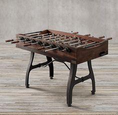 Vintage Industrial Foosball Table | Restoration Hardware