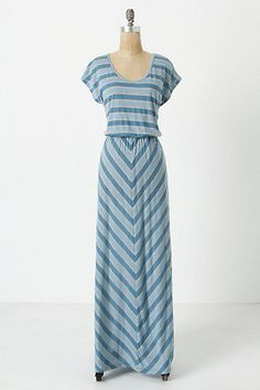 Cinch & Flow Maxi Chemise #anthropologie - looks comfy!