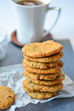 Indian Namkeen Methi Mathri - Salted Fenugreek Crackers
