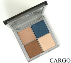 CARGO Color Palette Eyeshadow Quad in Vienna Review, Photos, Swatches