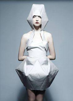 "Bunka Fashion Academy 4th Graduation Project ""Human Evolution"" @bunkafashionacademy #bunkafashionacademy"