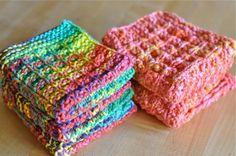 washcloths and dishcloths by waldorf mama