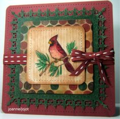 Cardinals Rule jhg 10_04 by jojot - Cards and Paper Crafts at Splitcoaststampers