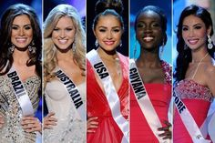 The Best Hair & Beauty Looks at the 2012 Miss Universe Pageant