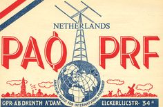 50 's 60 's QSL cards mailed to and from radio operators to confirm an exchange.
