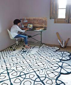 new Dauvine rug by GAN Studio arrived at oikos http://www.oikos.gr/english/dauvine-rug.html