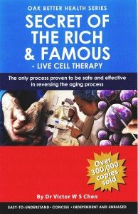 Secrets of the Rich & Famous by Dr Victor WS Chen | Purtier Placenta 5th Edition