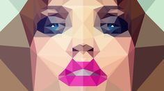 Photoshop: How to Create LOW POLY  Graphics from Photos