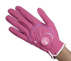 Lady Classic Women's Soft Flex Gloves with Magnetic Ball Marker, Left Hand, Fuchsia, Large *** Check this awesome product by going to the link at the image.