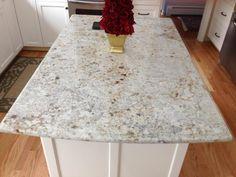 colonial white granite white cabinets color | home decor ...