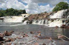 Orinduik Falls  Ireng River, Potaro-Sipuni Region, Guyana