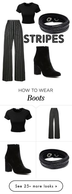 """""""Untitled #89"""" by selinagrace-1 on Polyvore featuring Balenciaga, LE3NO, Witchery and Swarovski"""