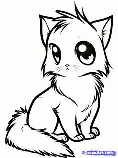 Chibi Pet Coloring Pages