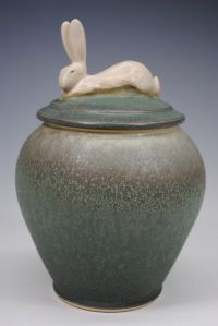 """Hare Pot"" by Carolyn Dilcher Stutz"