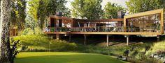 Woodlands, Brockport, NY United States by Henning Larsen Architects Henning Larsen, Usa Country, United States, The Unit, Mansions, House Styles, Cabins, Architects, Home Decor