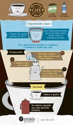 Receita-ilustrada de café - Mixidão