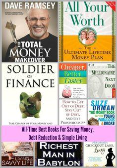 Best Books For Saving Money Debt Reduction Simple Living | KansasCityMamas.com