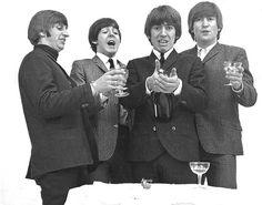 Richard Starkey, Paul McCartney, George Harrison, and John Lennon