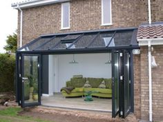 Lean-To Conservatories - Conservatory - Radcliffe Glass Windows Extension Veranda, Conservatory Extension, House Extension Design, Glass Extension, Extension Ideas, Lean To Conservatory, Conservatory Kitchen, Conservatory Design, Conservatory Interiors