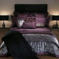 Purple Bed I will have this!