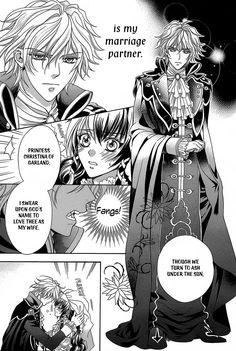 """Kyuuketsuki no Uruwashiki Kekkon: C.02 """"The Bride and the Prince"""""""
