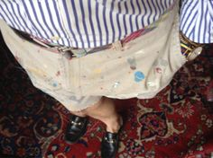 maxminimus:    Jackson Pollock and J.Press jumped me this morning.