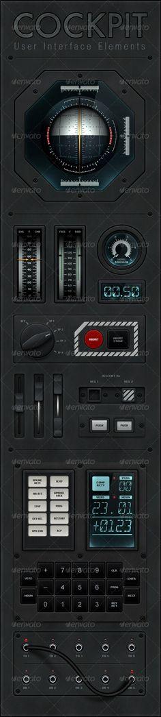 Cockpit UI Elements