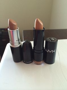MAC Dupe Alert: NYX Honey is a dupe for MAC Fresh Brew :) enjoy!