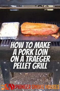 When it comes to a great cut of meat, pork loin takes flavors better than most. Also, it is hard to beat a Traeger pellet grill for mild smoke and ease of use. Learning how to make a pork loin on a Traeger pellet grill is a great way to add the smoke flavors to your favorite piece of pork....... Smoke Bbq, The Smoke, Great Cuts, Pork Loin, Grilling, Meat, Vegetables, Learning, How To Make