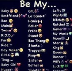 He is my king and babe bea or sweetheart Read Be my from the story Pick a title by Bipolarlover__ (Aj's❤) with reads. Snapchat Story Questions, Snapchat Question Game, Instagram Story Questions, Funny Questions, Snapchat Stories, Funny Nicknames For Friends, Nicknames For Boyfriends, Cute Names For Boyfriend, Cute Nicknames