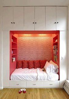 A good bedroom project that is great for tiny rooms ..storage \u0026 a place & 10 best Tiny bedroom solutions images on Pinterest | Child room ...
