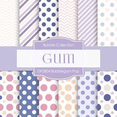 Bubblegum Pop Digital Paper DP3804