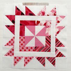 Hanies: Sew Red for Women Block 2