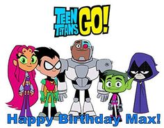 Teen Titans Go! Edible Frosting Sheet Cake Topper -- Tried it! Love it! Click the image. : baking decorations